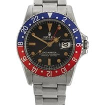 Rolex | Gmt Master, Reference 1675 Stainless Steel Dual-time...