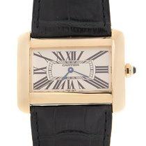 Cartier Tank Divan new Quartz Watch with original box and original papers W6300556