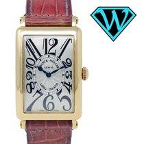 Franck Muller Reloj de dama Long Island 44,26mm Cuarzo usados Reloj con estuche original 2005