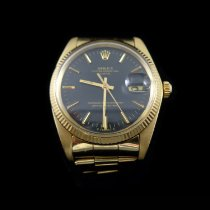 Rolex Oyster Perpetual Date Yellow gold 34.5mm United States of America, Connecticut, Greenwich