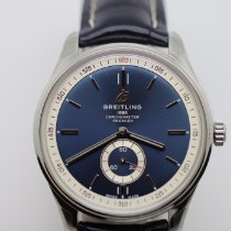Breitling Staal 40mm Blauw