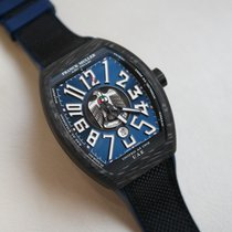 Franck Muller Carbon Automatic Blue new Vanguard