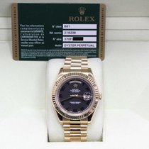 Rolex Day-Date II Yellow gold 36mm Black United States of America, California, San Diego