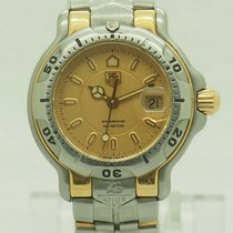 TAG Heuer 6000 Gold/Steel 29mm Gold No numerals