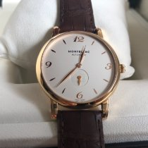 Montblanc Rose gold Automatic 39mm pre-owned Star Classique