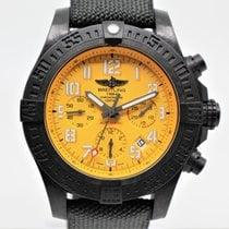 Breitling Ceramic Automatic Yellow Arabic numerals 45mm new Avenger Hurricane