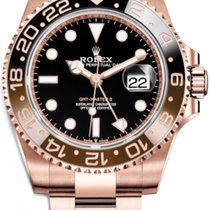 Rolex GMT-Master II Rose gold 40mm Black No numerals United States of America, Florida, Sunny Isles Beach