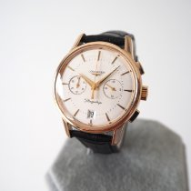Longines Rose gold 38mm Automatic L4.756.8.72.2 pre-owned