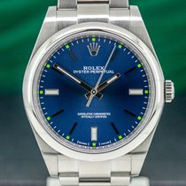 Rolex Oyster Perpetual 39 Steel 39mm Blue United States of America, Massachusetts, Boston