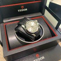 Tudor Grantour Date Steel 42mm Black No numerals