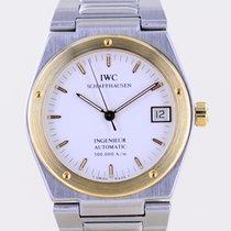 IWC Ingenieur Automatic Золото/Cталь 34mm Белый Без цифр