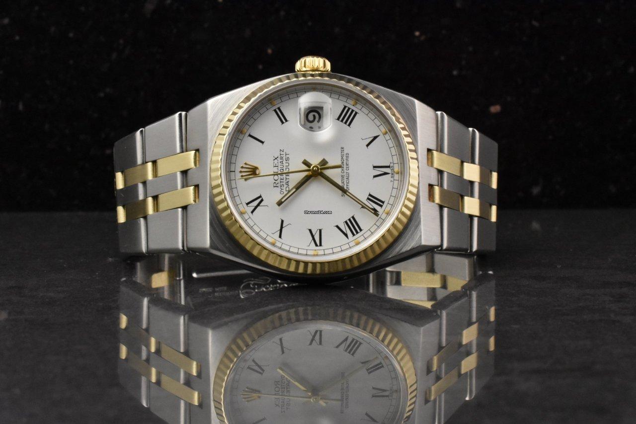 Rolex Datejust Oysterquartz Stahl / Gold , Buckley Dial 1980 top