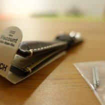 Hirsch Parts/Accessories Men's watch/Unisex new Crocodile skin Brown