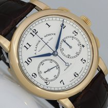 A. Lange & Söhne 1815 Red gold 39,5mm Silver (solid) Arabic numerals