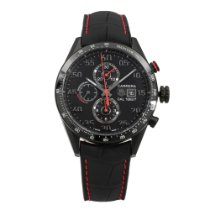 TAG Heuer Titanium 43mm Automatic Carrera Calibre 1887 pre-owned United States of America, New York, New York