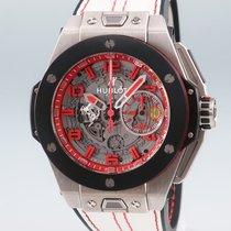 Hublot Big Bang Ferrari Titan 45mm Silber