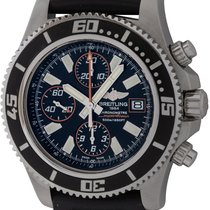 Breitling Superocean Chronograph II Steel 44mm Black United States of America, Texas, Austin