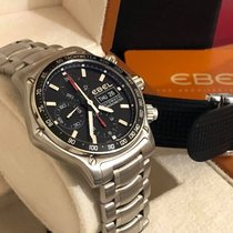 Ebel 1911 Discovery Steel 43mm Black