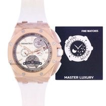 Audemars Piguet Royal Oak Offshore Tourbillon Chronograph 26540OR.OO.A010CA.01 New Rose gold 44mm Automatic