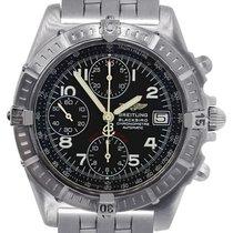 Breitling A13353 Blackbird Stainless Steel Chronograph Watch
