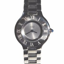 Cartier 21 Must de Cartier Steel Grey Roman numerals United States of America, Florida, Sarasota