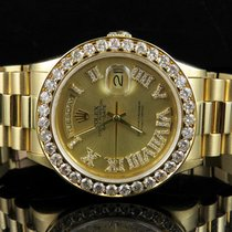 Rolex 18K Mens Yellow Gold Rolex President Day-Date 36MM...