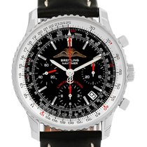 Breitling Navitimer Aopa Black Dial Le Mens Watch A23322 Unworn
