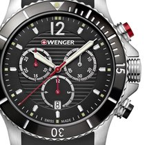 Wenger 01.0643.108 Seaforce Chronograph 43mm 20ATM