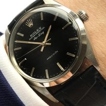 Rolex Serviced Air King Automatic Vintage Automatik black dial