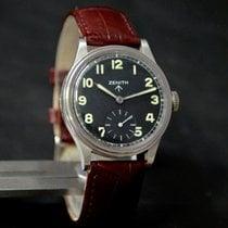 Zenith Military Winding Swiss Watch