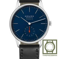 NOMOS Orion Neomatik Steel 38.5mm Blue No numerals
