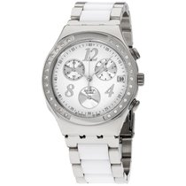 Swatch Irony Dreamwhite White Dial Stainless Steel Unisex Wach...