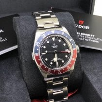 Tudor Black Bay GMT Steel 41mm Black No numerals United Kingdom, Newcastle Upon Tyne
