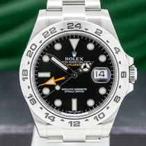 Rolex Explorer II pre-owned 42mm