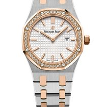 Audemars Piguet Royal Oak Lady Gold/Steel 33mm Silver No numerals United States of America, New York, NEW YORK