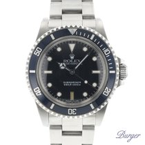 Rolex 5513 Staal 1989 Submariner (No Date) 40mm tweedehands Nederland, Maastricht
