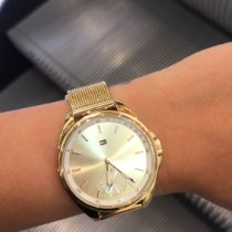 Tommy Hilfiger Gold/Steel 36mm Quartz pre-owned