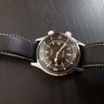 Longines 42mm Automatic pre-owned Legend Diver Black