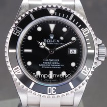 Rolex Sea-Dweller 4000 Steel 40mm Black No numerals United Kingdom, London, Paris, Brussels and Barcelona face to face only - Other countries shipping with Brinks and DHL Express