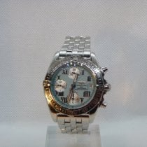 Breitling Chrono Cockpit pre-owned 39mm Chronograph Date Steel