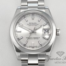 Rolex Lady-Datejust Steel 31mm Silver Roman numerals