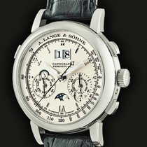 A. Lange & Söhne 410.025 Platinum 2010 Datograph 41mm new United States of America, New York, Westchester