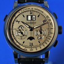 A. Lange & Söhne Platinum 41mm Manual winding 410.025 new United States of America, New York, Westchester