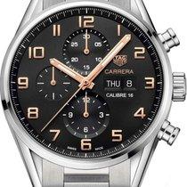 TAG Heuer Carrera Calibre 16 new 2010 Automatic Chronograph Watch with original box