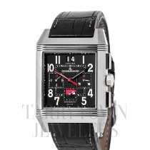 Jaeger-LeCoultre Reverso Squadra World Chronograph Titanium 36mm Black Arabic numerals United States of America, New York, Hartsdale