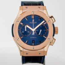 Hublot Classic Fusion Blue Rose gold 45mm Blue No numerals United States of America, Massachusetts, Boston