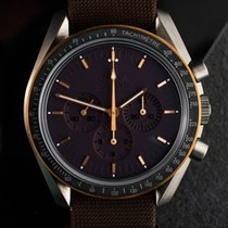 Omega Titanium Manual winding Grey 42mm pre-owned Speedmaster Professional Moonwatch