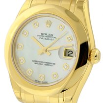 Rolex Pearlmaster Yellow gold 34mm Mother of pearl United States of America, New York, New York