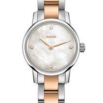 雷达 (Rado) Rado Ladies R22890942 Coupole Classic Pearl Diamonds...
