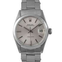 Rolex Oysterdate  Midsize Steel with Silver Dial, Ref: 6646